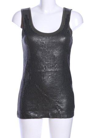 Steffen Schraut Top di merletto grigio chiaro stile casual