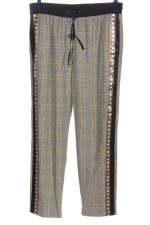 Steffen Schraut Pantalone jersey motivo a quadri stile casual