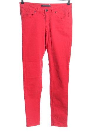 Steffen Schraut Jeans stretch rouge style décontracté