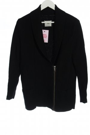 Steffen Schraut Giacca in maglia nero stile casual