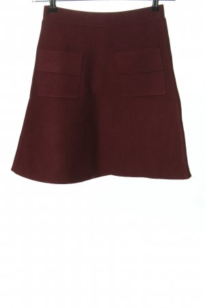 Steffen Schraut Knitted Skirt red casual look