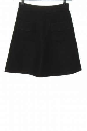 Steffen Schraut Knitted Skirt black casual look
