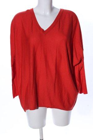 Steffen Schraut V-Neck Shirt red casual look