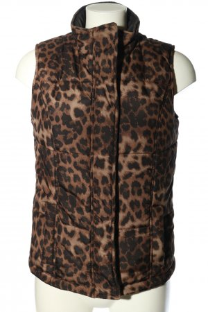 Steffen Schraut Reversible Vest brown allover print casual look