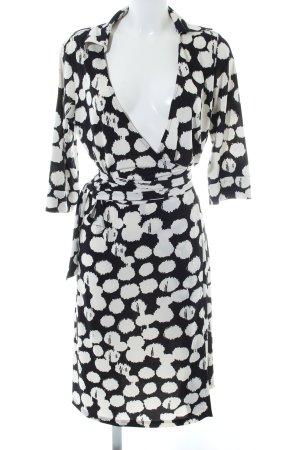 Steffen Schraut Wraparound black-white abstract pattern elegant