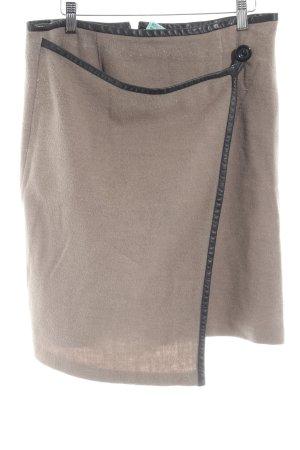 Steffen Schraut Wool Skirt beige elegant
