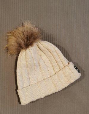 Steffner Cappello a maglia marrone chiaro-beige chiaro