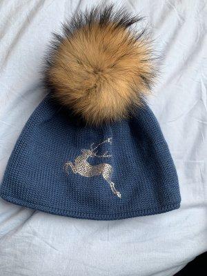 Steffner Fur Hat blue