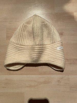 Steffner Knitted Hat cream wool