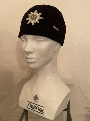 Steffner Cappello a maglia nero-grigio chiaro Acrilico
