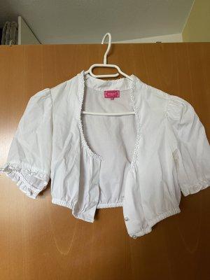 Blouse bavaroise blanc