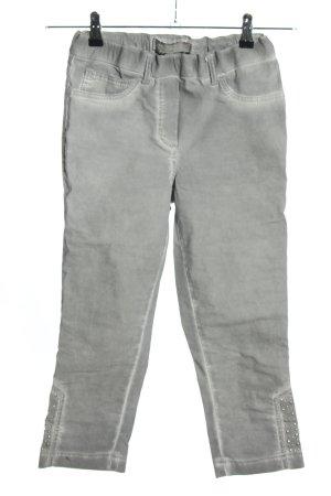 Stehmann Pantalone a 3/4 grigio chiaro stile casual