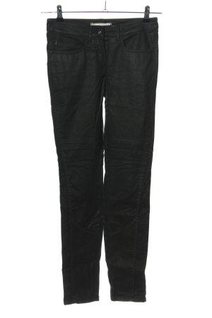 Stehmann Jeans de moto noir style décontracté