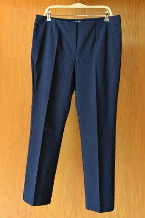 Stehmann Pantalon strech bleu foncé viscose