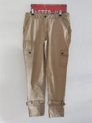Stehmann Pantalone cargo sabbia Cotone