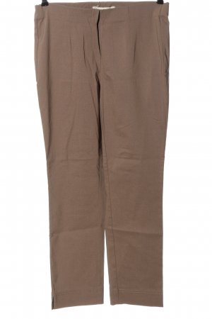 Stehmann Pantalone a vita alta marrone stile casual