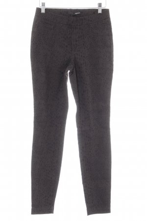 Stehmann Jeggings schwarzbraun Animalmuster Animal-Look