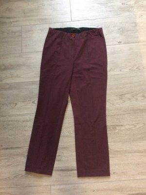 Stehmann Pantalon strech brun rouge