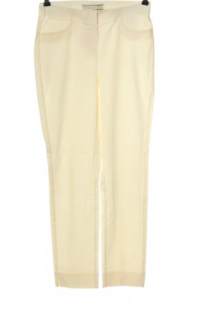 Stehmann Pantalone jersey crema stile casual