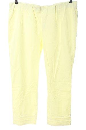 Stehmann Pantalone jersey giallo pallido stile professionale