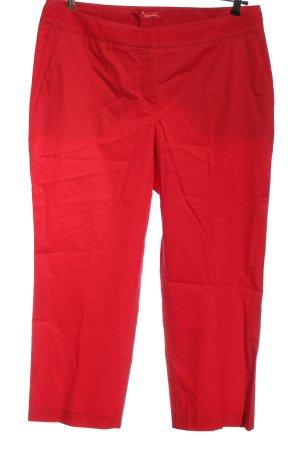 Stehmann Pantalone jersey rosso elegante