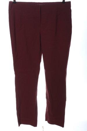 Stehmann Pantalone jersey rosso stile casual