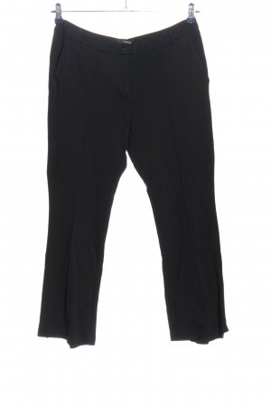 Stehmann Pantalone jersey nero stile professionale