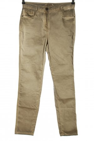 Stehmann Stoffhose creme Casual-Look