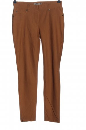 Stehmann Pantalone jersey marrone stile casual