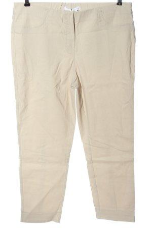 Stehmann Pantalone jersey bianco sporco stile professionale