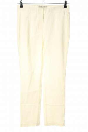 Stehmann Stretchhose creme Casual-Look