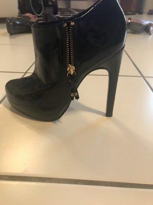 Carvela Platform Booties black
