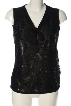 Steilmann ärmellose Bluse schwarz Elegant