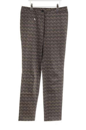 Steilmann Pleated Trousers graphic pattern business style
