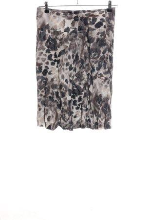 Steilmann Flared Skirt animal pattern casual look