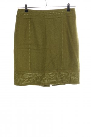 Steilmann High Waist Rock khaki Casual-Look