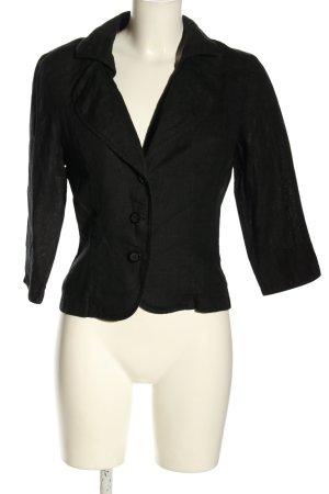 Steilmann Korte blazer zwart zakelijke stijl