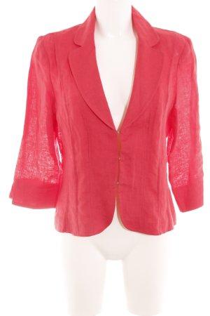 Steilmann Korte blazer rood casual uitstraling
