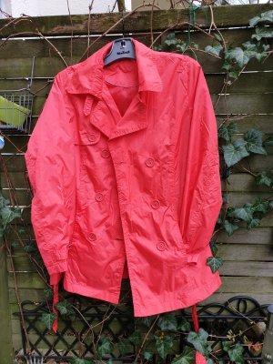 Steilmann Regenjas rood-lichtrood Polyester
