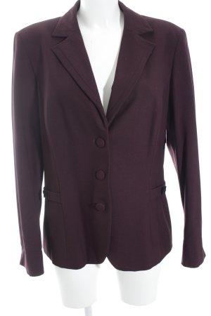 Steilmann Lange blazer bruin-paars gestippeld casual uitstraling