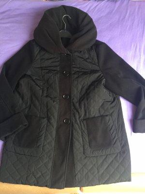 Steilmann Płaszcz polarowy czarny