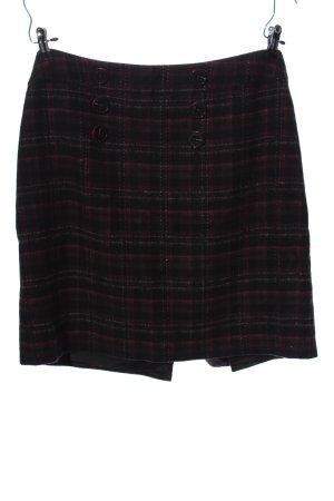 Steilmann Mini rok zwart-roze volledige print zakelijke stijl