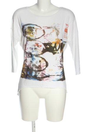 Steilmann Oversized Shirt weiß Motivdruck Casual-Look