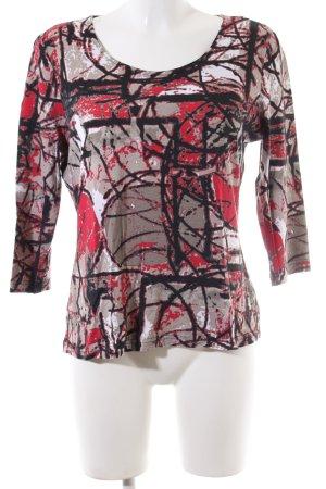 Steilmann Print-Shirt abstraktes Muster Casual-Look