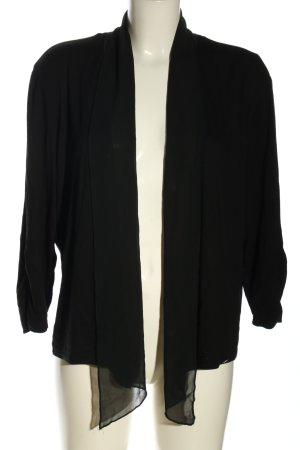 Steilmann Veste chemise noir style décontracté