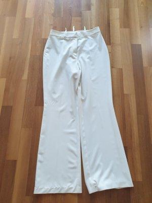 Steilmann Pantalone a vita alta bianco sporco