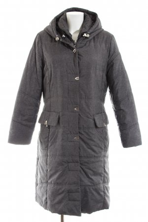 Steilmann Quilted Coat light grey quilting pattern casual look