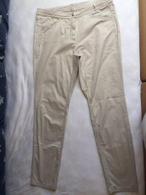 Steilmann Haut-de-chausse gris clair coton