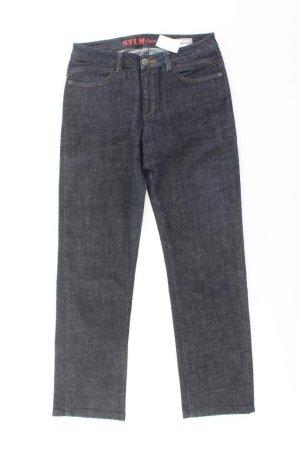 Steilmann Straight Leg Jeans blue-neon blue-dark blue-azure cotton