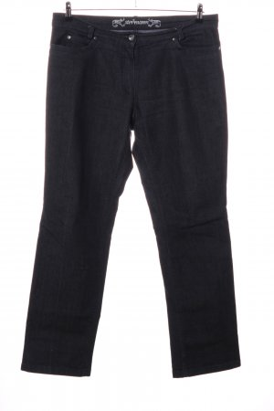 Steilmann Straight-Leg Jeans schwarz Casual-Look